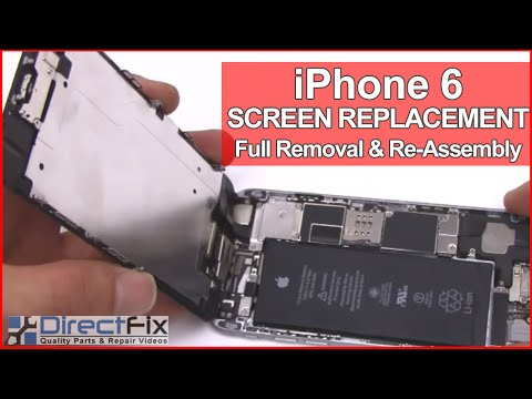 fix iphone 6 screen iphone 6 screen replacement directfix 1687