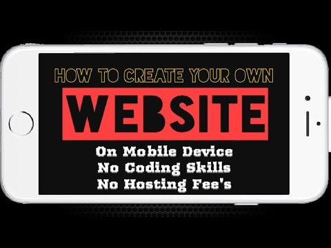 How To Create A Website! | Free, Mobile,...
