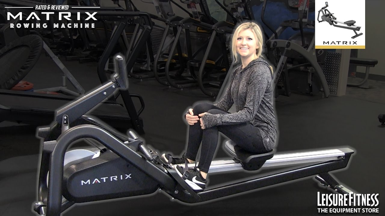 Leisure Fitness Vidmoon Matrix Elliptical E30 Xer Rowing Machine Review