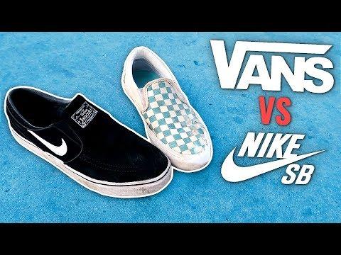 NIKE SB VS VANS - Which Is Better?