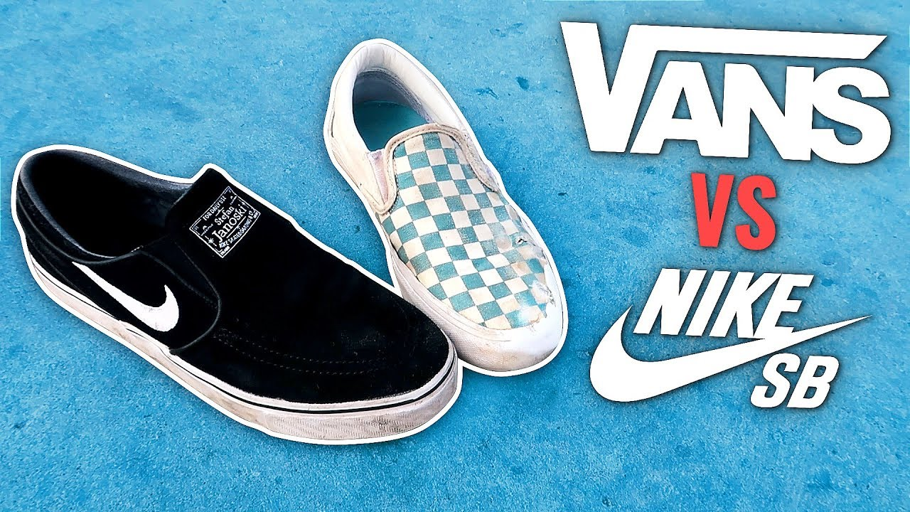 d3276175459eb6 NIKE SB VS VANS - Which is better  - YouTube