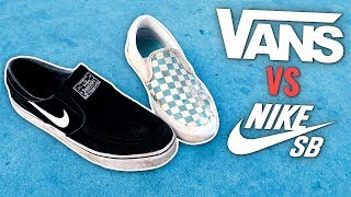 NIKE SB VS VANS - Which is better?