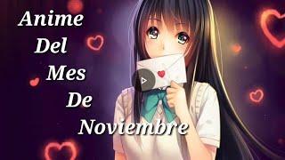 Anime del mes de noviembre/