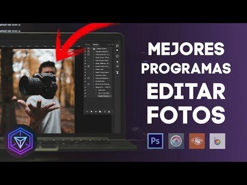 ➤TOP MEJORES PROGRAMAS PARA EDITAR FOTOS 📸 EN TU PC 2019!