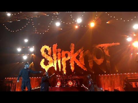 Slipknot show  Siemens Arena Vilnius 23.01.2016 FULL HD PART 01