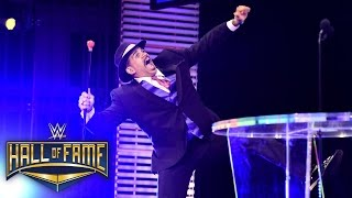 """All aboard!"" as The Godfather shows his love to those that helped him: 2016 WWE Hall of Fame"