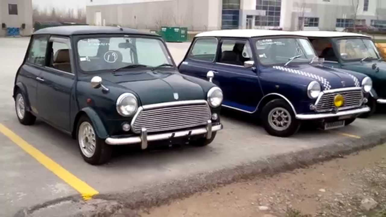 Rover Mini Imports 3 Of Them Youtube