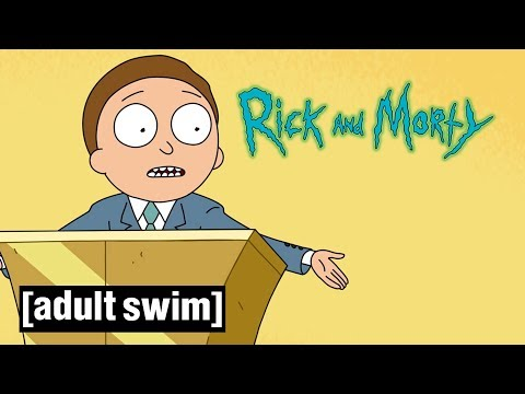 Inside ''Tales from the Citadel'' | Rick and Morty | Season 3 | Adult Swim