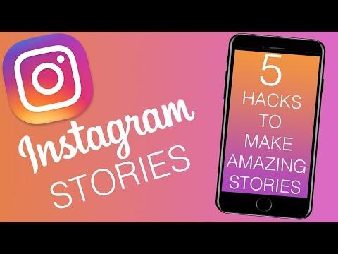 Instagram Stories Secrets - 5 hacks - Full color backgrounds