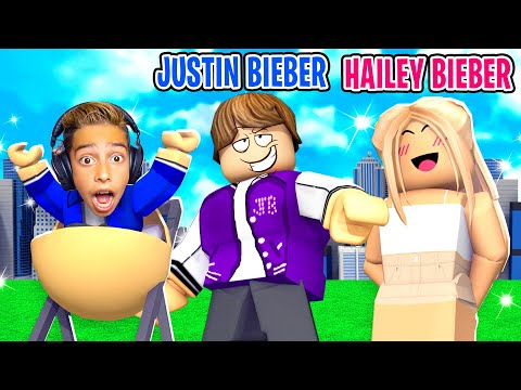 Ferran Got ADOPTED By JUSTIN BIEBER!! (Roblox Brookhaven)   Royalty Gaming