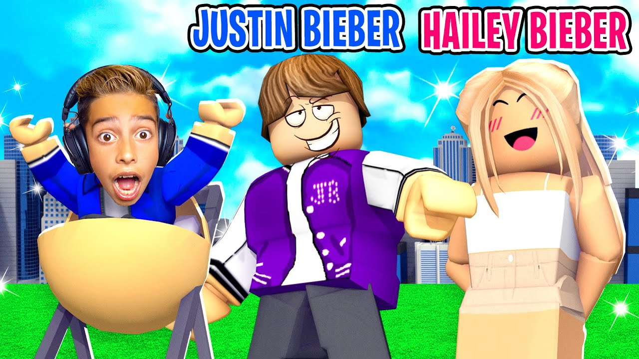 Ferran Got ADOPTED By JUSTIN BIEBER!! (Roblox Brookhaven) | Royalty Gaming