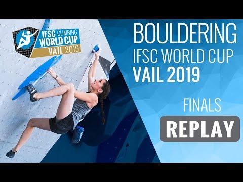 IFSC Climbing World Cup Vail 2019 - Bouldering Finals