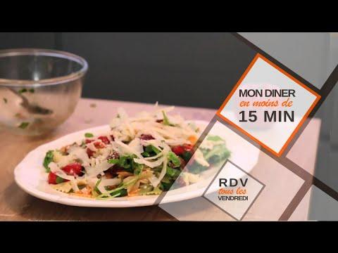 Salade de pâtes en moins de 15 minutes