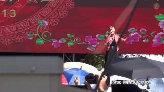 Shila Amzah 1 Malaysia CNY Live Performing《征服》@Penang-[11.02.2013]