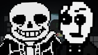 "Evil Gaster? ""Don't Forget"" Undertale Fangame"