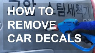 How to remove vehicle wraps an…
