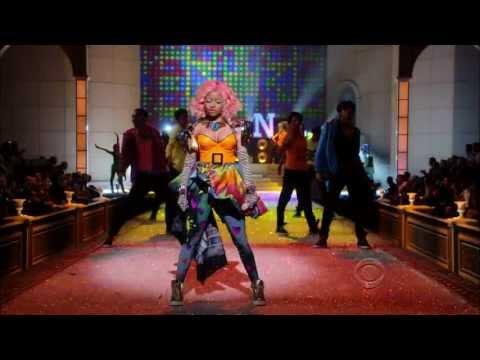 Nicki Minaj Performing Super Bass at Victoria's Secret Fashion Showmkv