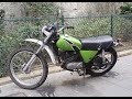 Kawasaki KL250 exhaust sound and acceleration compilation