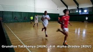 Handball. U17 boys. Sarius cup 2017. Tatabanya KC (HUN) - CS Alpha Oradea (ROU) - 11:5 (1st half)