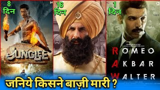 Box Office Collection | Kesari Collection, Junglee Movie Collection, Romeo Akbar Walter Collection,