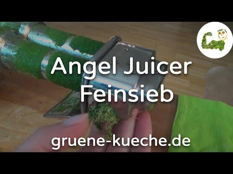 Feines Sieb - Angel Juicer Siebe ausprobiert (Teil 1/6)