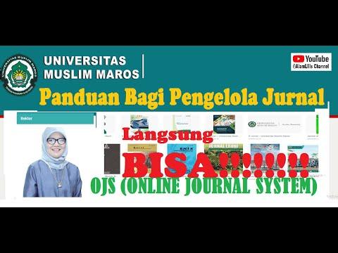 Jurnal | Cara Menerbitkan Jurnal | Panduan Bagi Pengelola Jurnal | Publikasi Jurnal - YouTube