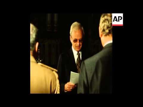 SYND 4-11-72 WEST GERMAN AMBASSADOR PRESENTS CREDENTIALS
