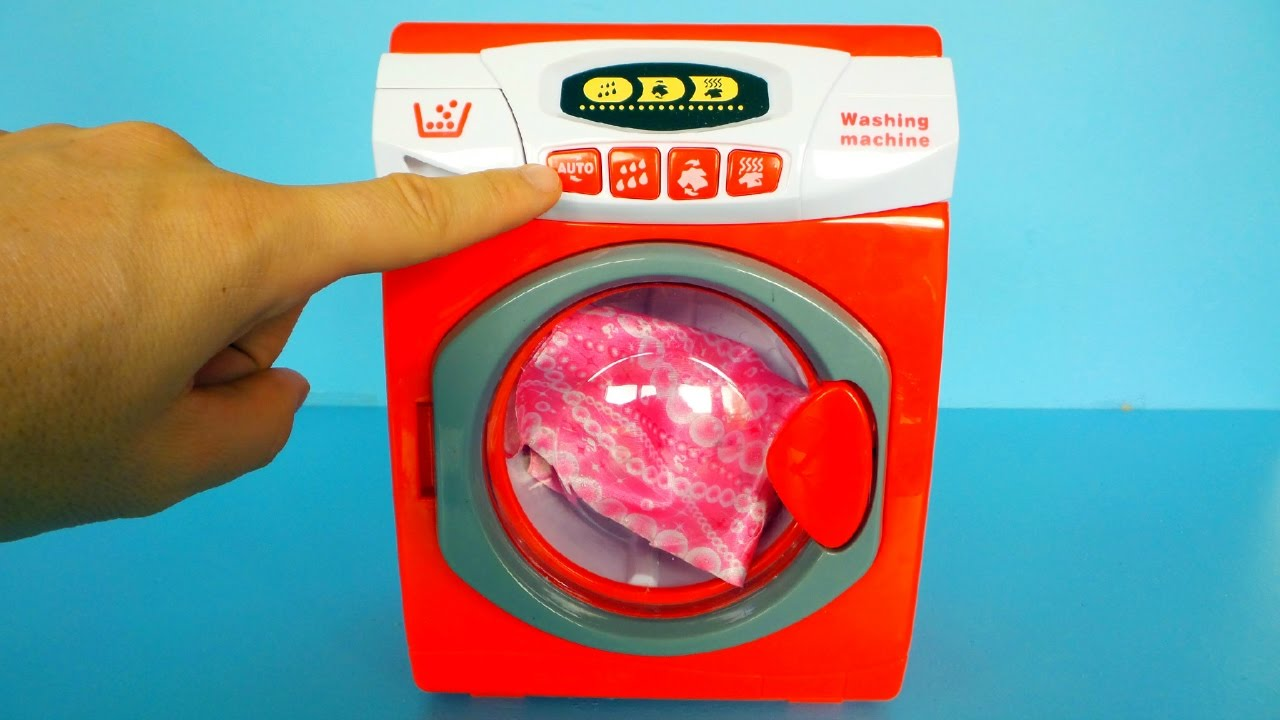 Ces De Cocina Youtube | Toy Washing Machine Unboxing And Playing Youtube