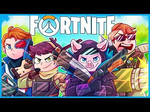 THE OVERWATCH CHALLENGE in Fortnite: Battle Royale! *HARD* (Fortnite Funny Moments & Fails) thumbnail