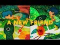A NEW FRIEND (PAINTING PROCESS + Q&A)