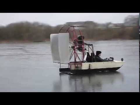 Airboat powered by Yamaha 600cc engine