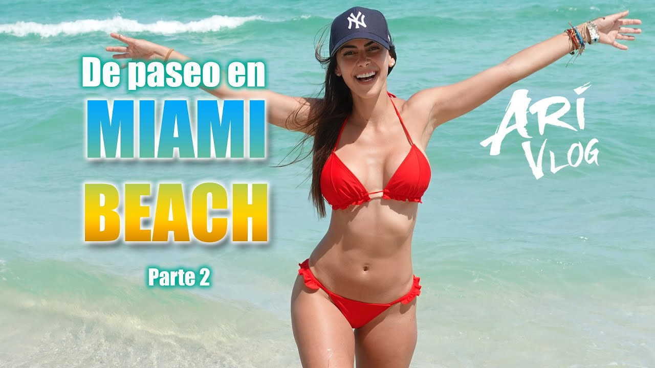 De paseo en Miami Beach - Parte 2 - Ari Vlog #AriVlogMiami