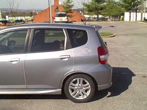 Honda fit 50 tint windows youtube for Honda window tinting