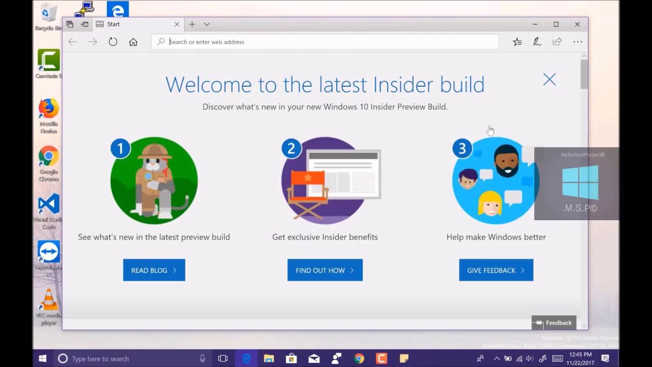 Windows 10 build 17046 iso download | Microsoft Releases Windows 10