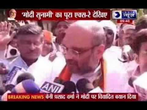 Narendra Modi in Varanasi: Biggest road-show in world's largest election
