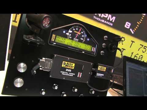 Auto Meter Data Acquisition Video Features At PRI 2011
