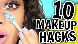 10 Makeup HACKS You've NEVER Seen Before!!