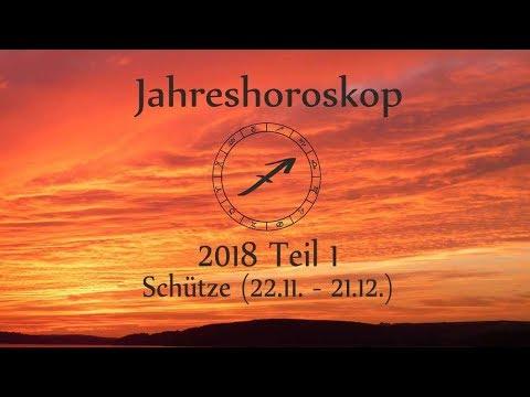Sternzeichen Schütze Dein Jahreshoroskop 2018 Teil 1 Youtube