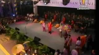 Boria Asli Pulau Pinang Di Dataran Merdeka Kuala Lumpur Pimpinan OMARA