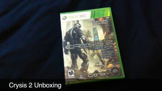 Crysis 2 Limited Edition Unboxing
