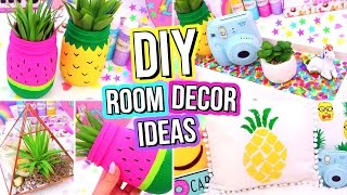 DIY ROOM DECOR IDEAS! Easy & Fun 5 Minute DIY's For Your Room!
