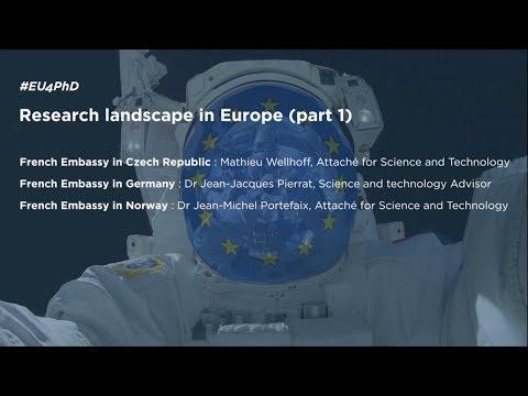 RESEARCH LANDSCAPE IN EUROPE (Part 1) #EU4PHD [Dec, 11th]