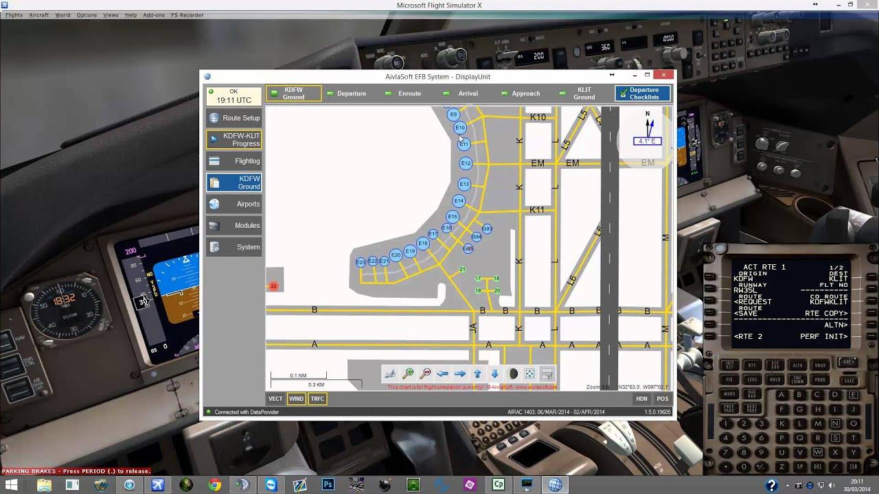Aivlasoft Flight planning with PMDG 777