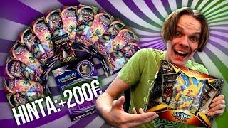 Metsästetään +400€ Pokemon -korttia! *avataan 21 pakettia*