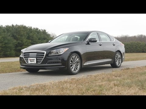 2015 Hyundai Genesis review Consumer Reports