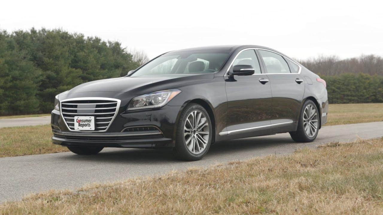 2015 Hyundai Genesis review   Consumer Reports - YouTube