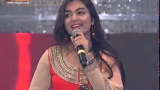 vijay awrds nazriya speak about thala