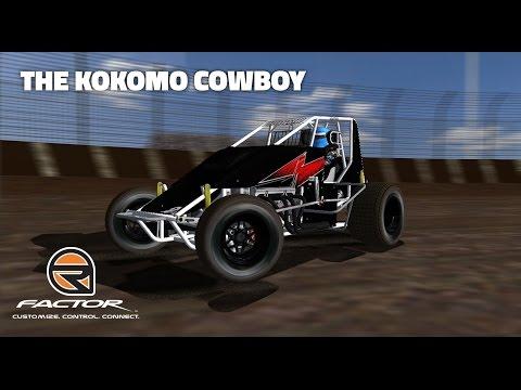rFactor: The Kokomo Cowboy (Wingless Sprints @ Kokomo Speedway)