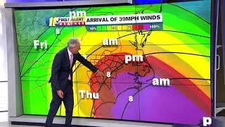 LATEST TRACK: Hurricane Florence expected to make landfall Friday morning (Sept. 11, 4pm)
