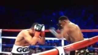 Gennady Golovkin v Daniel Jacobs - round 12